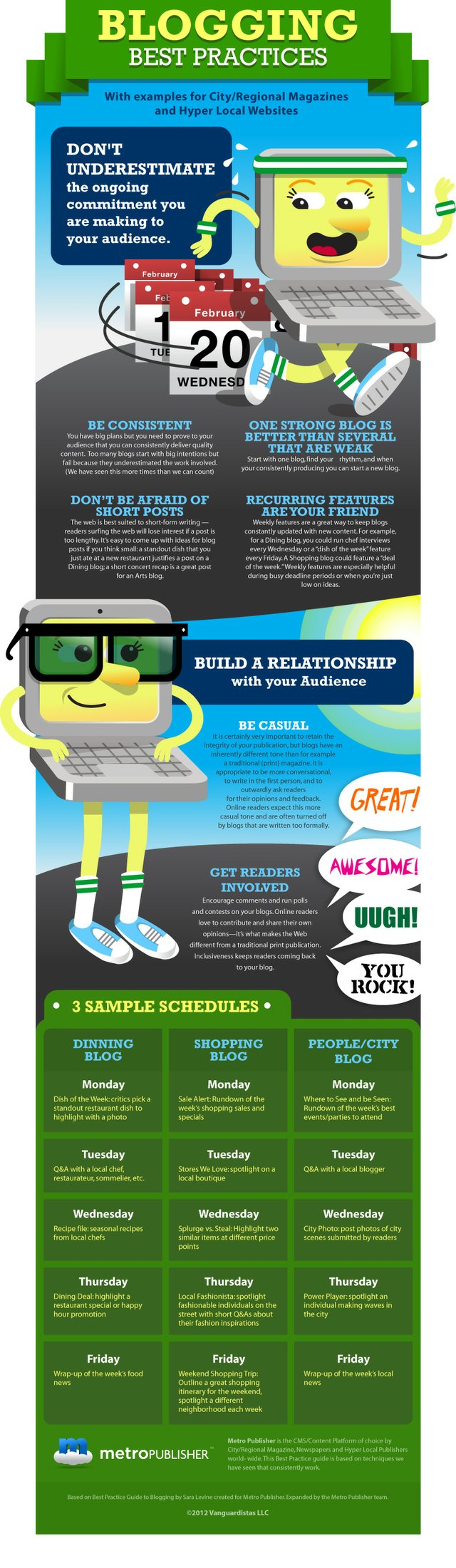 Guide to Blogging Infographic