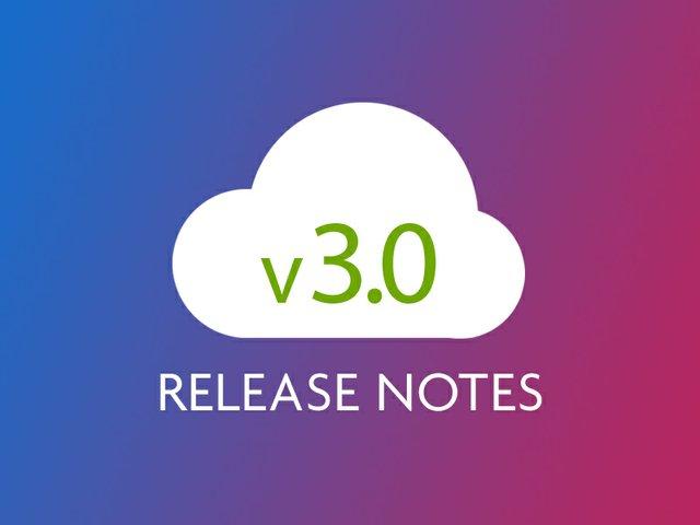 v3.0 Release Notes Poster