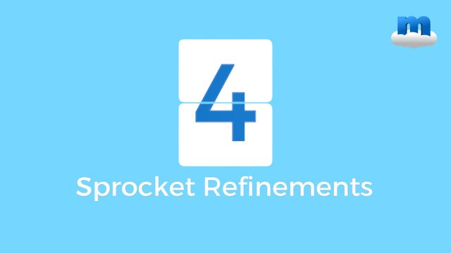 MP4 Sprocket Refinements