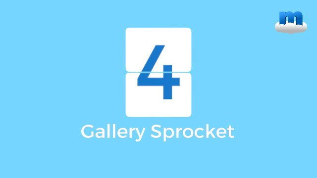 MP 4 Gallery Sprocket