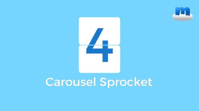 MP4 Carousel Sprocket