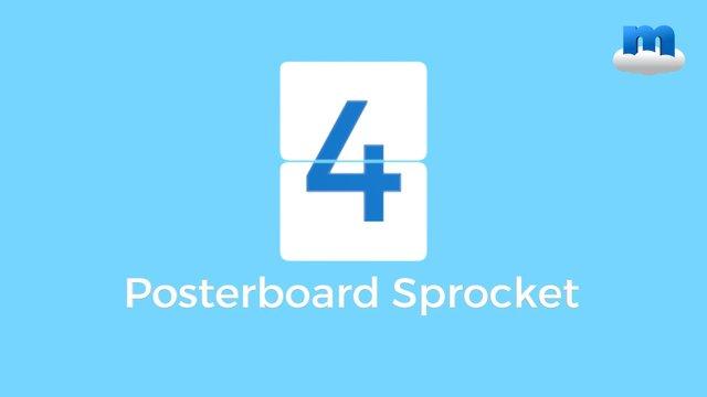 Posterboard Sprocket